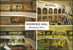 woody2 (Mitch Glaser) Tags: woodfield chicago shoppingcenters malls buildings postcards 1970s art signs departmentstores lordandtaylor jcpenney sears marshallfields