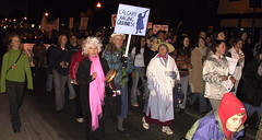 Take Back The Night 2004: Raging Grannies (Grant Neufeld) Tags: calgary 2004 march rally protest feminism activism feminist activist raginggrannies takebackthenight tbtn feministing