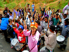 Fly, Hummingbird Fly  IV (carf) Tags: children child kid kids boys girls community esperana hope brasil brazil social poverty impoverished underprivileged favela shanty culture cultural music arts education educational support investment prevention drums drumming drumbeat