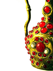 golden (macca) Tags: golden red jug whiteground jewel