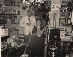 toy shop (TinTrunk) Tags: toy interior lincolnshire 1950s 1960s oldphotograph toyshop foundphotograph gainsborough vintagetoy