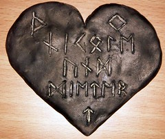 A token of troth (Lifthrasil) Tags: photo germany futhark runic runes asatru handfasting pagan