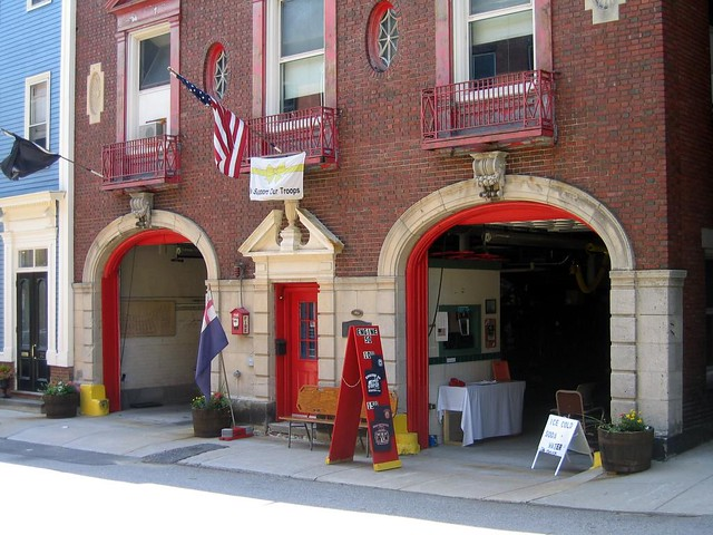 Boston fire station