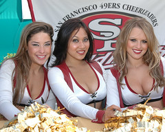 9ERS CHEER 3 (CoachCashMoney) Tags: cheerleaders 49ers sf sanfrancisco football 9ers goldrush goldrushgirls trainingcamp