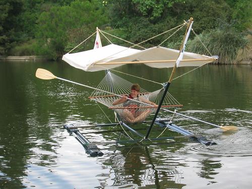 Hammock boat!