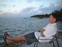 cy & sunset (RebeccaMacK) Tags: bahamas harborisland