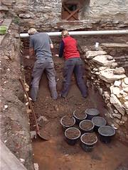 Am Steinwerk Bierstrae 7 (Jens-Olaf) Tags: archologie osnabrueck osnabrck steinwerk medieval mittelalter germany archaeology
