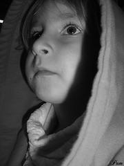 Rafaela (Novo/new: /pamelamachado) Tags: rafaela rafa prima cousin pb bw criana kid child