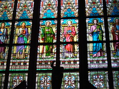 St Vitus Cathedral (Tjflex2) Tags: old trip travel family windows light vacation holiday detail art history castles church beautiful beauty car stairs silver germany amazing cool nice interesting europe czech prague cathedral artistic sunny praha stainedglass czechrepublic colourful ornate stories complex steeples masterpiece cannons stvitus