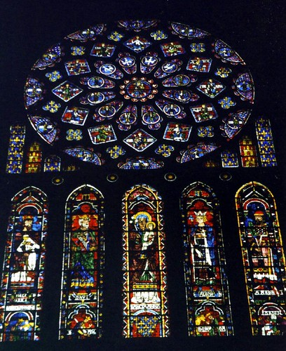 Window in Chartres Cathedral
