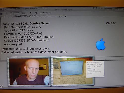 Laptop order form