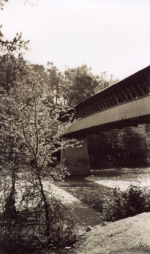 Horton Mill Covered Bridge Span, Blount County AL