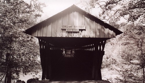 Swann Covered Bridge Entrance, Blount County AL