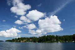 Stockholm archipelago (Airchild) Tags: sweden summer stockholm archipelago island sea water clouds blue