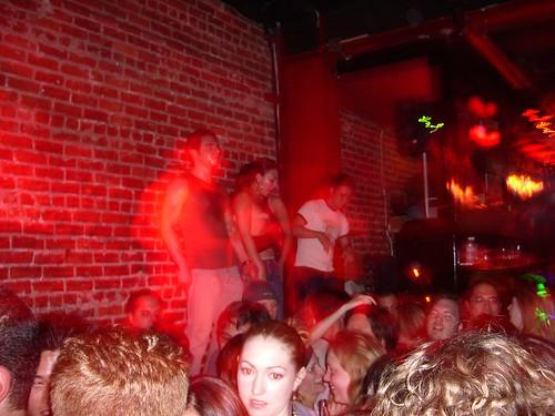 dance 1984 catclub sleeveless muscular sweaty guy tabledancing