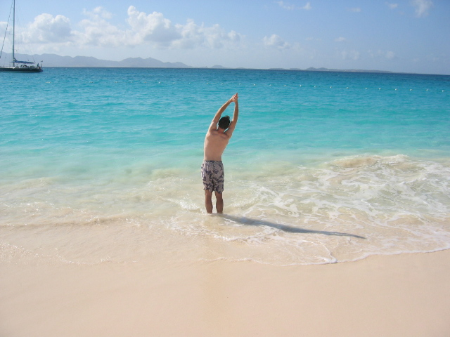 Limbering Up On Anguilla's Beaches
