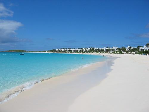 Fabulosa playa de Cap Juluca