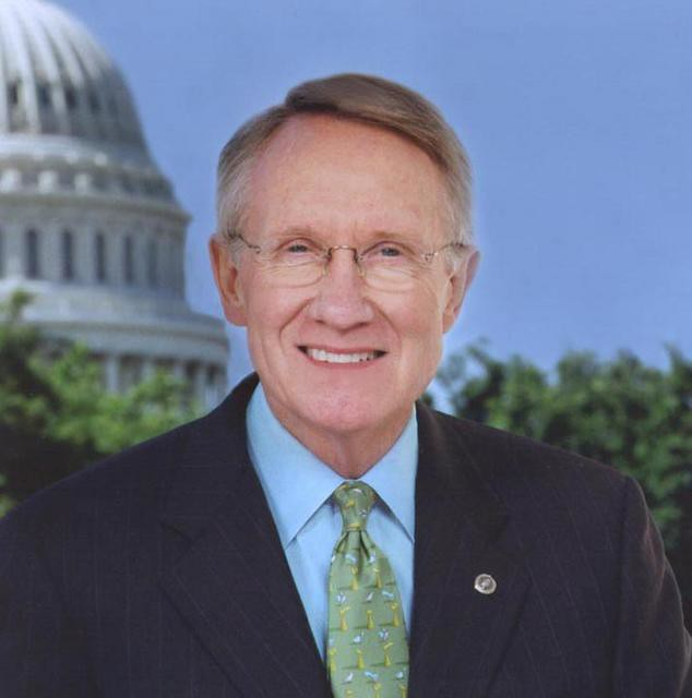 Senator Harry Reid (D) Nevada