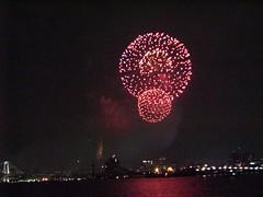 Fireworks at Tokyo Bay (digitalbear) Tags: tokyo japan fireworks yukata yakatabune