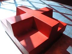 mix it up (vsz) Tags: seattle blue light shadow red usa public architecture modern washington interior patterns olympus seattlepubliclibrary seating koolhaas c8080 libslibs princeramus librariesandlibrarians