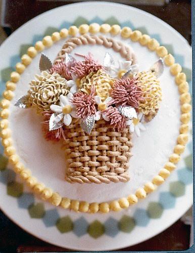 boquillas para decorar tartas, efecto cesta