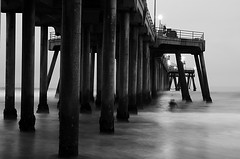 Ghosts (fd) Tags: pier beach ocean surf huntingtonbeach california surfing surfer