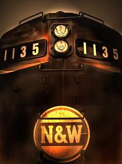 N&W - 1135