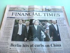 Un ejemplar del Financial Times