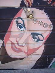 Balmy Alley Mural (Detail) (dogwelder) Tags: 2005 sanfrancisco california mural august doorknob zurbulon6 knob balmyalley zurbulon gatturphy