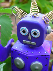 Purple Robot by peyri, on Flickr