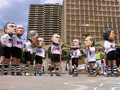 G8 Family March: Bobble-head Leaders - by Grant Neufeld