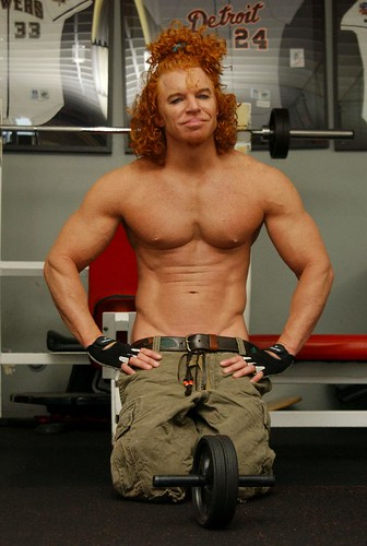 carrot top plastic surgery. I guess Carrot Top had to do
