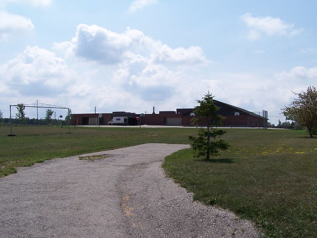 Huron Heights from the field