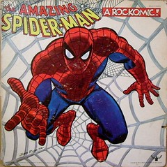 The Amazing Spider-Man: A Rockomic! (dogwelder) Tags: album spiderman vinyl cover record albumcover zurbulon6 marvel marvelcomics johnromita zurbulon gatturphy