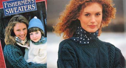 Inishmore - Alice Starmore Fishermens' sweaters