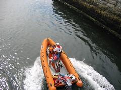 This looks like fun! (Bluepeony) Tags: boat water harbour ocean sea orange delete delete2 delete3 delete4 delete5 delete6 save delete7 delete8 save2 save3 save4 delete10