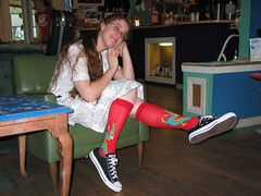 Sock Love (Indiana Joanna) Tags: erica dragon socks chucks perk thecollegeperk collegeparkmd