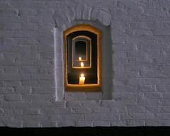 Noodverlichting 1 (Harry Mijland) Tags: holland netherlands dutch war europe utrecht candles candle fort nederland ww2 candlelight waterlinie lunet dearharry harrymijland