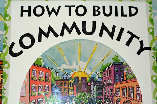 building the community When it comes to building a community, leadership can't be about you it has to  be about everyone else.
