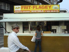 Friterie Place Flagey