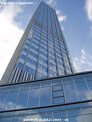 ffm - europische zentralbank (ds-foto :: bembelkandidat) Tags: frankfurt mainhatten ezb zentralbank europa euro bembelkandidat skyscraper hochhaus city