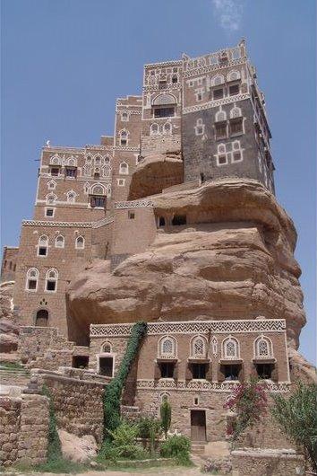 Yemen - Imam's Palace, Wadi Daar