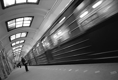 Saint Petersburg Metro3 (@Visual_Mind) Tags: city travel people urban bw white black saint modern train underground metro russia transport platform petersburg transit commute lookatme saintpetersburg russian society professionalphotographer pereira miguelpereira topphotoblog wwwmiguelpereiraes