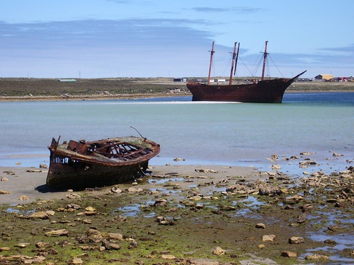 Lady Elizabeth and another wreck