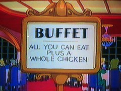 mmm buffet...i love futurama