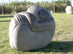 "Day 22 Bodhi Vincent ""Refuge Stone I"" (te_kupenga) Tags: bodhivincent exhibition kupenga gen06 2006 day22"