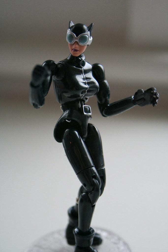 Microman Catwoman Toy.