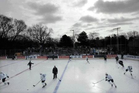 The Leafs Practice at Rennie Park