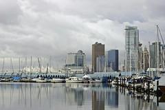 Royal Vancouver Yacht Club / Glass City (fauxtographie) Tags: city vancouver stanleypark coalharbour