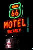 Route 66 Motel (Heather Leah Kennedy) Tags: california sign night lights neon motel 66 route barstow